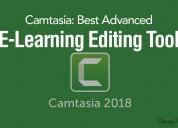 Camtasia: best advanced e-learning editing tool