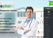 Hospital management system with website