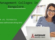 Top college in bangalore for management