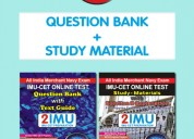 Imucet book | double pack (study material + questi