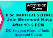 B.sc nautical science | join merchant navy after 1