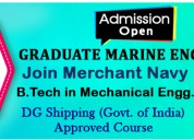 Graduate marine engineering | join merchant navy