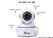 360 auto-rotating wireless cctv camera