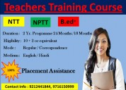 Primary teacher training  correspondence course in