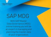 Sap mdg online training courses in pune, learn sap