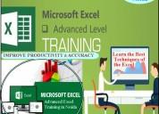 Advanced excel training in noida