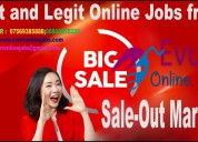 Home based online data entry jobs / home based job