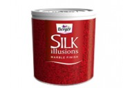 Berger paint silk illusions marble finish