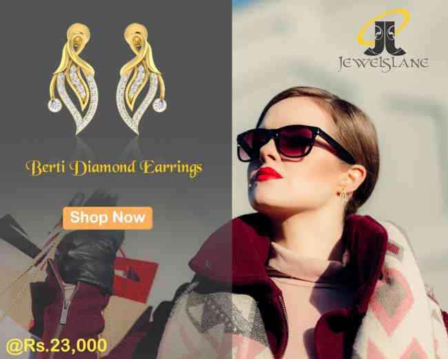 Berti Diamond Earrings