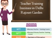 Nursery primary teacher training course in delhi