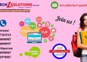 web designing and development training in chennai