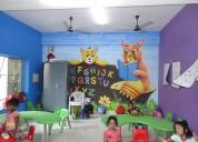 Nursery school wall painting ideas in hyderabad