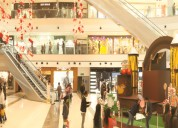 Which are largest shopping malls in delhi ncr