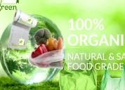 Biodegradable polythene bags