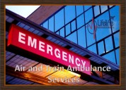 Air ambulance in patna bestow the amenities to top