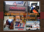 Undisturbed service with air ambulance in kolkata