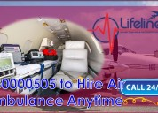 Get access to air ambulance in jamshedpur with pro