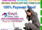 Homebased part time jobs ammalapuram