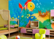 Vs enterprises - wall paint children room