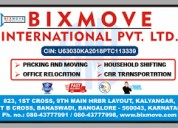 Top Packers and Movers in  Indira Nagar(Bangalore)