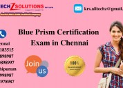 Blue prism certification exam in chennai