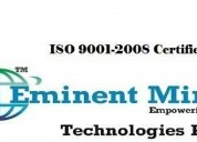 Eminent Minds Technlogies Hiring for  HR Recruiter