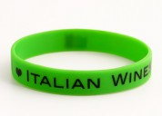 I love italian wines wristbands