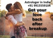 Love back expert astrologer+91 9915559104