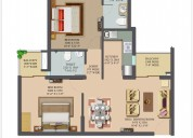 2 bhk apartments in ghaziabad - landcraft golflink