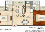 2 bhk flat in raj nagar extension – landcraft rive
