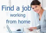 Work from home jobs - part time jobs - free jobsss