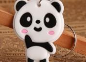 Panda pvc keychain