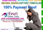 Online copy paste jobs - work form home at your fr
