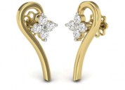 Diamond earrings - jewellery