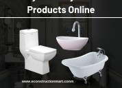 Easy to buy sanitary ware products online