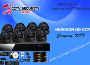 Hikvision hd cctv camera for view on the monitorin