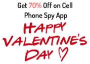 Off 70% on this valentines' with blurspy mobile sp