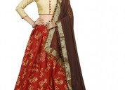 Buy fashionable glory lehnga online at eanythingin