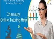 Online tutoring on chemistry homework