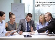 Uae embassy attestation services in maharashtra