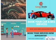 Garage onsite best car service in bangalore