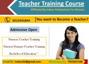 Ntt nptt b.ed course in delhi admission open