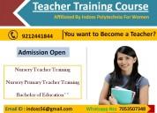 Ntt nptt b.ed course in delhi admission open