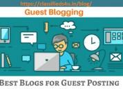 A blog & content writing platform: classifieds 4 u