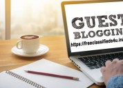 Top guest posting & blog writing site: free classi