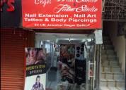 Nail art salons in delhi