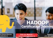 Best hadoop certification training in noida, delhi