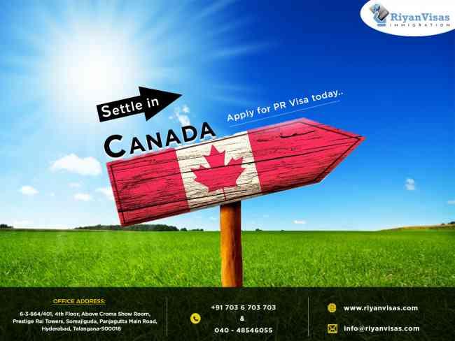 Canada pr visa consultants in Hyderabad