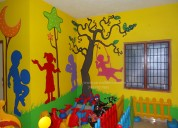 Cartoon wall painting pictures in hyderabad
