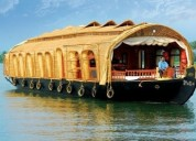 Houseboat packages in alleppey, kerala @ cheap rat
